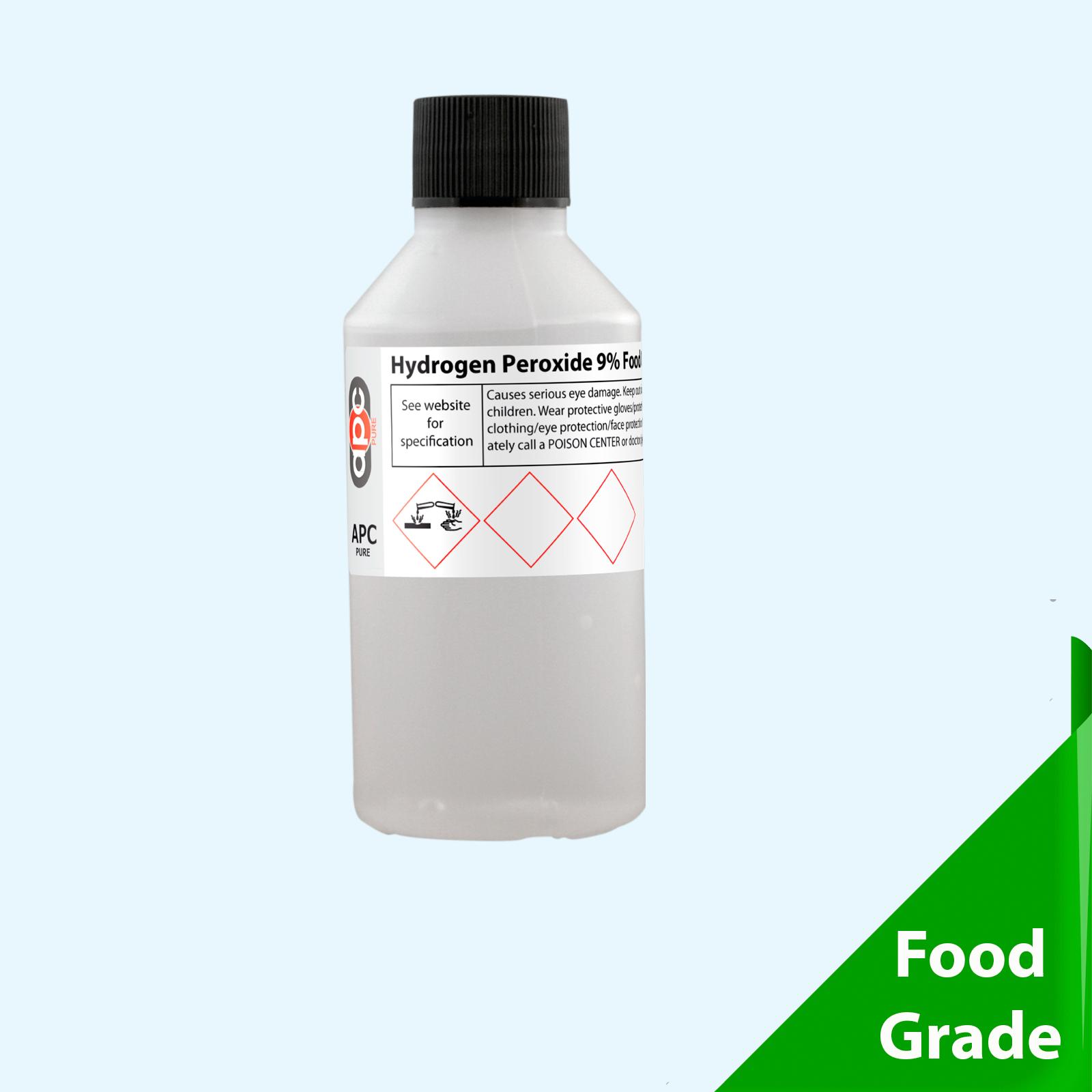 100ml hydrogen peroxide 9 30 vols food grade for Hydrogen peroxide on tattoo