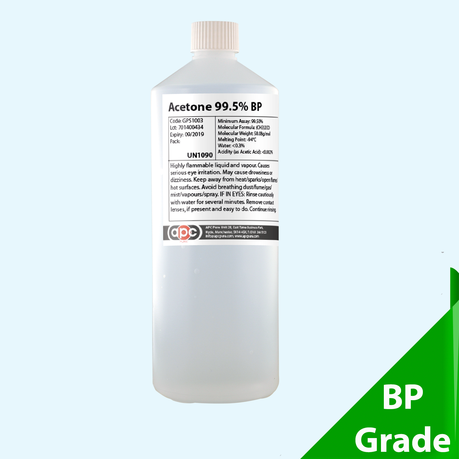 1 litre acetone 99 5 bp 1l fast shipment for Hydrogen peroxide on tattoo