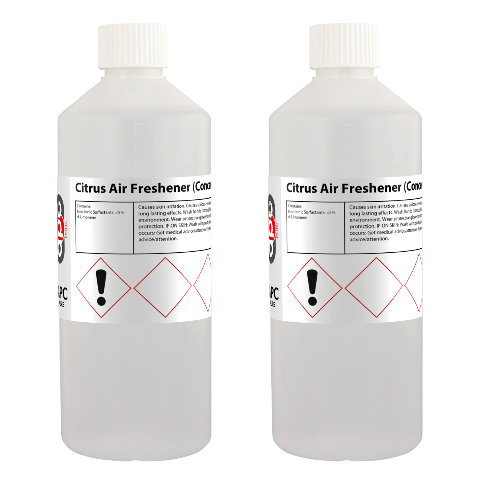 Liquid citrus air freshener deodoriser odour for Hydrogen peroxide on tattoo